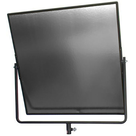 Matthews Aluminum Hand Reflector 24in x 24in with Black Yoke - Silver