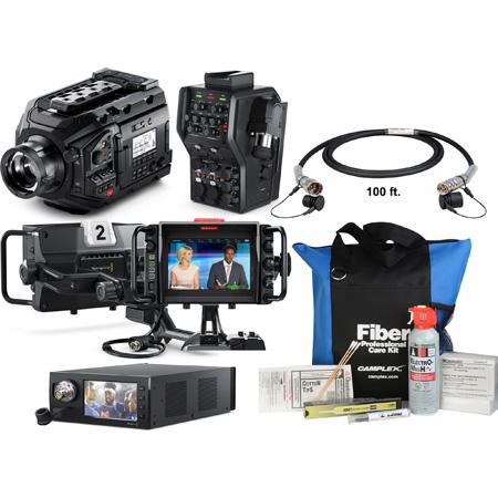 MTK-BMD-SMPTECAM Blackmagic URSA Broadcast Camera SMPTE Studio Pack