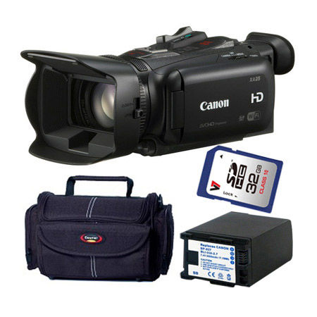 Canon XA25 Kit with Bag SDHC 32gb Card and Battery