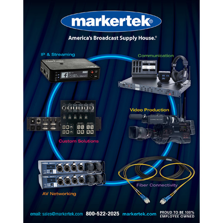 Markertek Spring 2019 - New from NAB 96 Page Catalog - FREE
