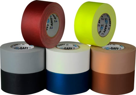 3 Inch Gaffers Tape Multi-Color Kit