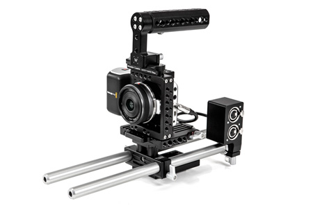 Blackmagic Design Pocket Cinema Camera with Wooden Quick Kit