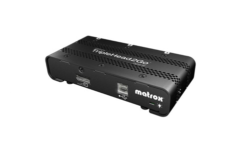 Matrox T2G-DP3D-IF TripleHead2Go Digital SE Edition 3 DVI Display Multiviewer