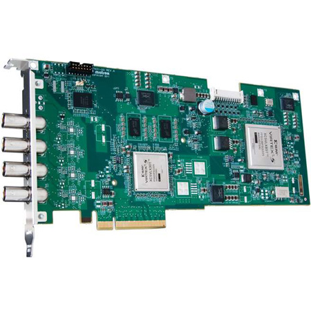 Matrox VS4 Quad HD Capture and ISO Recording Card