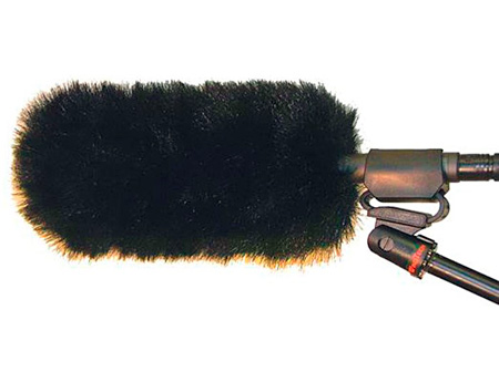 WindTech MM-23 Mic Muff Shotgun Microphone Windshield Fitted Fur Windscreen Cover