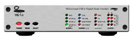 Mutec MC-1.2 Bi-directional USB & Digital Audio Interface