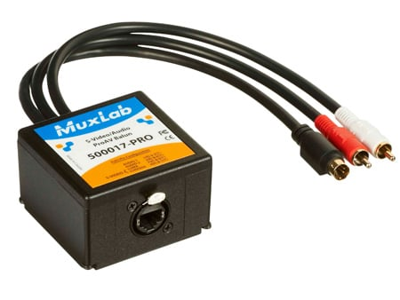 MuxLab 500017-PRO S-Video/Audio ProAV Balun