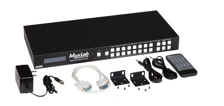 Muxlab 500441 8x8 4K-UHD HDMI Matrix Switcher