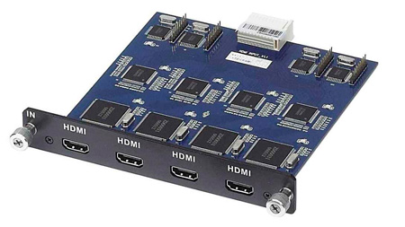MuxLab 500471 4 Channel HDMI Input Card