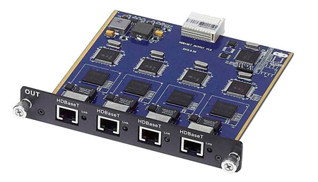MuxLab 500476 4 Channel HDBASE-T Output Card