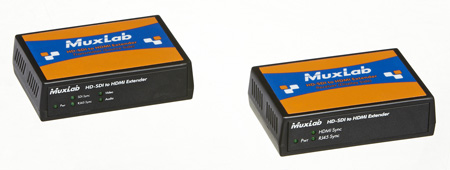 Muxlab 500715 HD-SDI to HDMI Converter & CAT5 Extender Kit