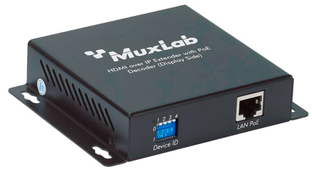Muxlab 500752-RX HDMI over IP Decoder