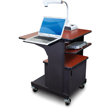 Marvel MVPSM2432CHDT-LT Benchmark Cart - Metal Door; LS; TS - Cherry