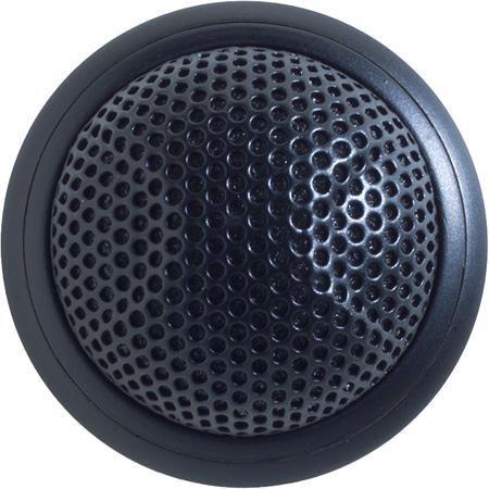 Shure MX395B/C Microflex Low Profile Boundary Mic Cardioid Black