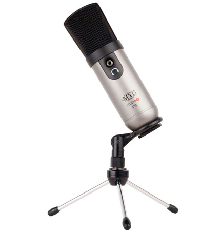 MXL Studio One USB Microphone Desktop Recording Kit
