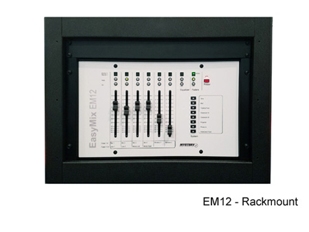 Mystery Em12 Rackmount Dsp Control Surface 6 Physical