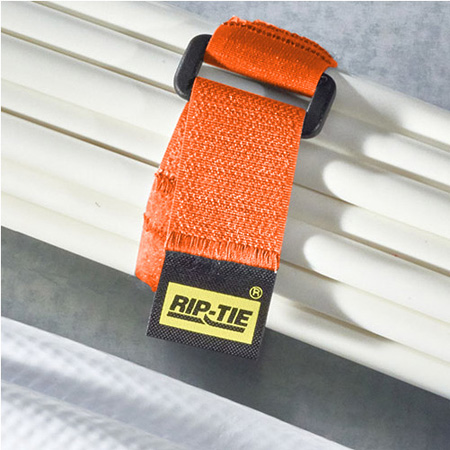 Rip-Tie CinchStrap 1x18in 10-pack Orange