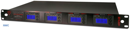 Nady 4W-1KU R - 4000 Channel True Diversity Receiver