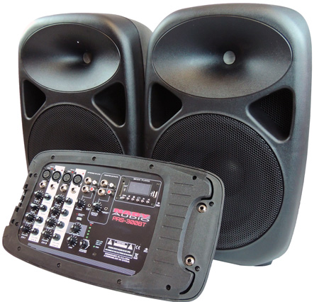 Nady PAS-300BT - Portable Sound System - 150 Watts