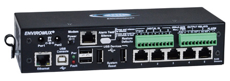 NTI ENVIROMUX-5D Medium Enterprise Environment Monitoring System