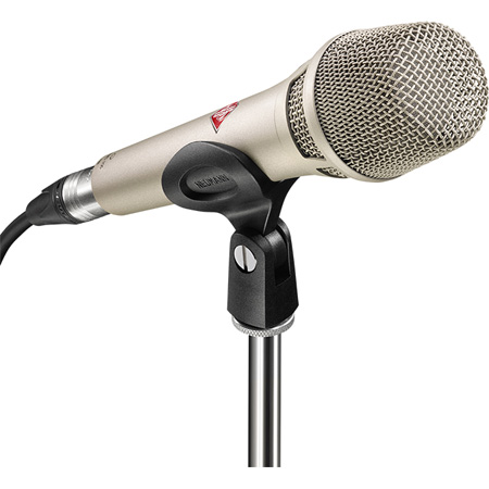 Neumann KMS 105 bk Supercardiod Handheld with K 105 Capsule - Black