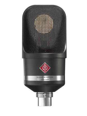 Neumann TLM-107 BK Multi-Pattern Large Diaphragm Condenser Vocal & Broadcast Microphone (Black)