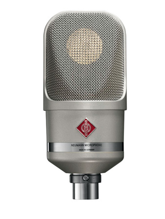 Neumann TLM 107 Multi-Pattern Large Diaphragm Condenser Vocal & Broadcast Microphone (Nickel)