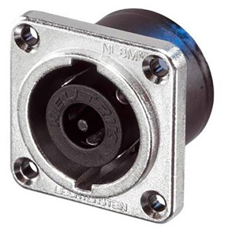 Neutrik NL8MPR 8 pole Chassis Connector - Nickel