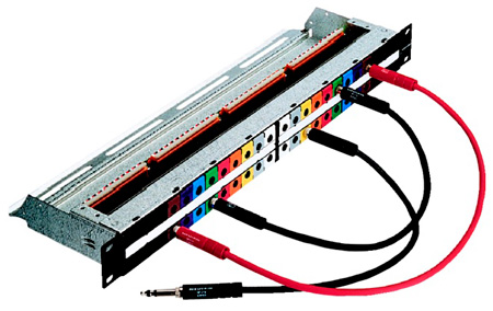 Neutrik NPP-TB 1/4in 2 x 24p Patchbay