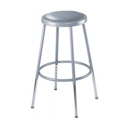 Heavy Duty Adjustable 19 Inch Steel Stool