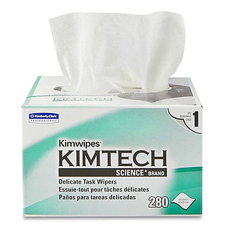 4.4 x 8.4 inch EX-L Delicate Task Kimwipes 280 Pack