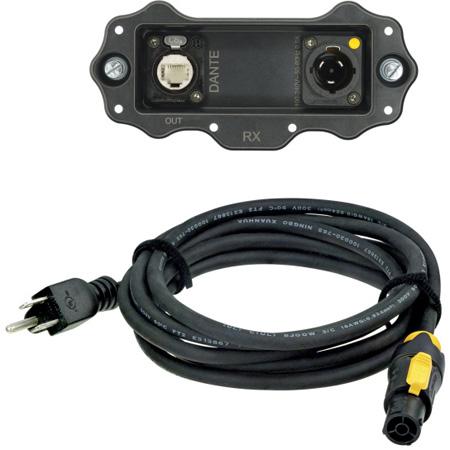 Neutrik NXP-RM-DANTE XIRIUM PRO Digital Receiver DANTE Output Module w/ NKXPF-5-15-3 powerCON TRUE1 Power Cable