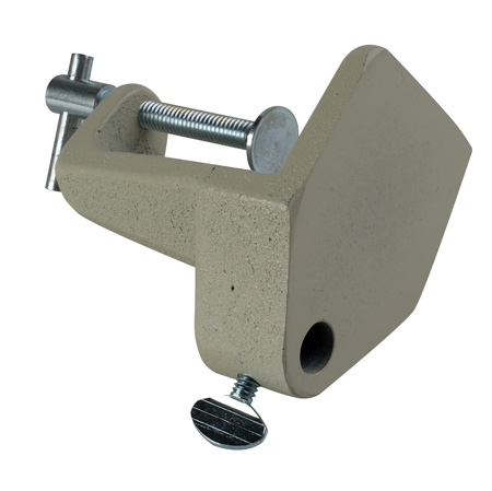O.C. White 14005 Clamp For Mic Arm - Beige