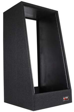 Odyssey CRS20W Carpeted 20-Space Studio Rack with Casters