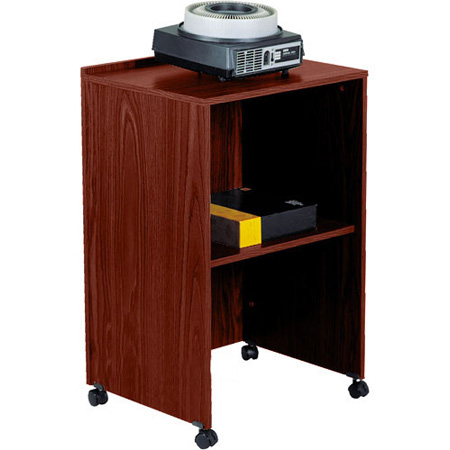 Combo Lectern Base/AV Cart Med Oak