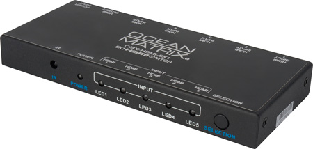 Ocean Matrix OMX-HDMI-5X1 5x1 HDMI Switcher