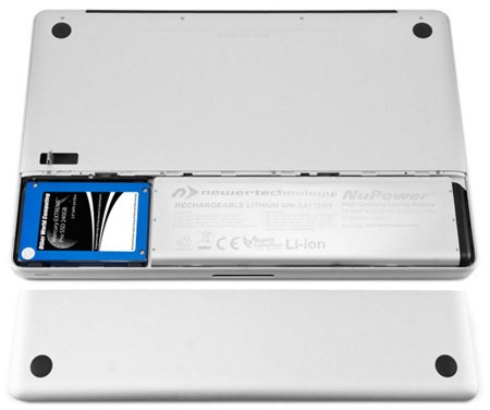 NewerTech NWTBAP13MBU50RS NuPower 54 Watt-Hour Replacement Li-Ion Battery for Apple MacBook13.3 Inch Unibody - Late 2008