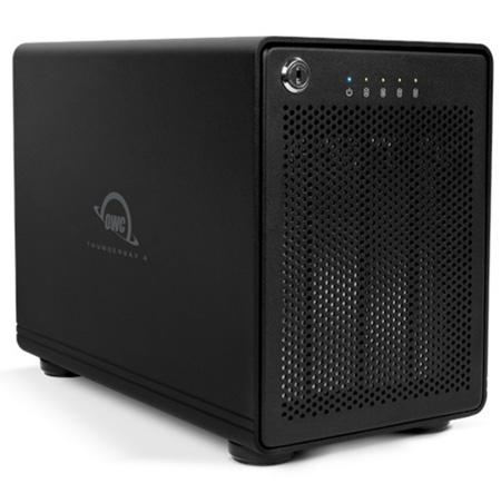 OWC TB2IVKIT0GB ThunderBay 4 - Four-Bay Professional Grade Enclosure with Dual Thunderbolt 2 Ports