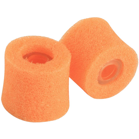 Shure - Medium Orange Foam Sleeves for use with E2 Earphones (5 pair)