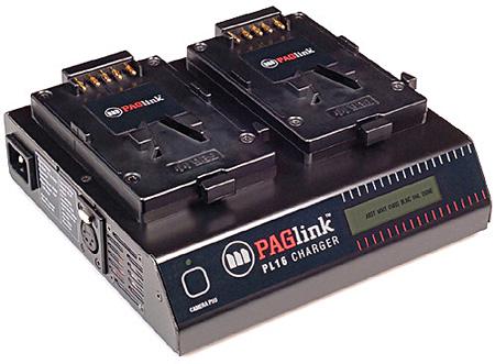 PAG PAGlink PL16 2-Position Charger for V-Mount Batteries