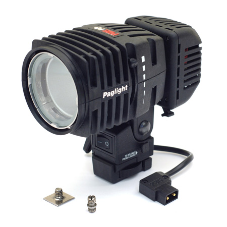 PAG 9966LD Paglight Camera Light with LED and Dimmer - D-Tap Power Base - 6 Inch Lead