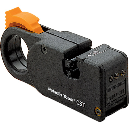 Greenlee PA1243 3-Level Coaxial Cable Stripper with Brown Cassette