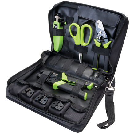 Greenlee 906001 FiberReady Fiber Optic Tool Kit