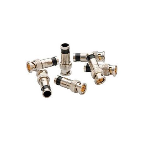 Greenlee PA9740 SealTite BNC Compression Connectors for RG6 & RG6 Quad Coax - 50 Pack Jar
