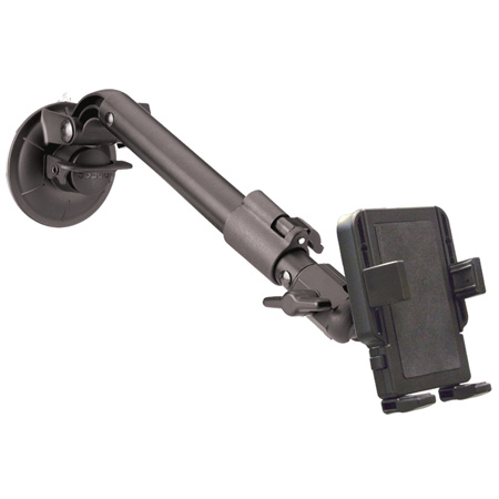 Panavise 15509 PortaGrip Universal Phone Holde -Telescoping Suction Cup Mount