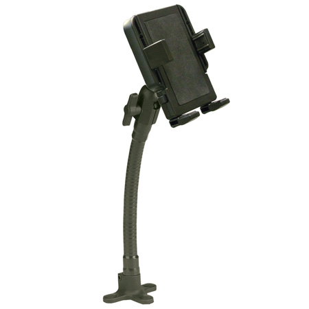 Panavise 15579 PortaGRIP Universal Phone Holder with Fixed Flex Shaft
