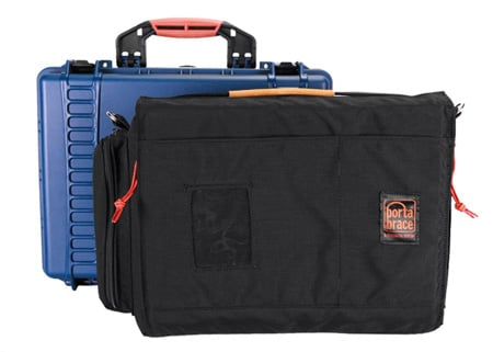 PortaBrace - PB-2500IC- Vault Hard Case w/Removable Interior Soft Carrying Case
