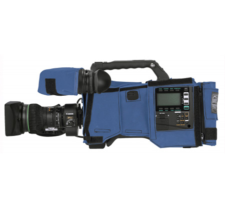 PortaBrace CBA-HPX600 Camera Body Armor for Panasonic AG-HPX600 - Blue
