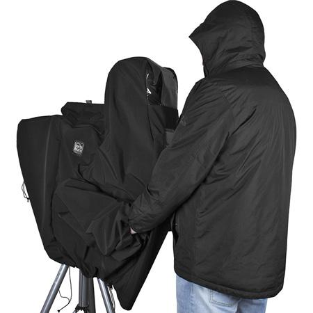 Porta-Brace CLK-3ENG Rain Cover for ENG Cameras - Black