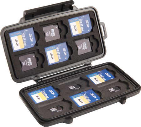 Pelican 0915 Memory Card Case
